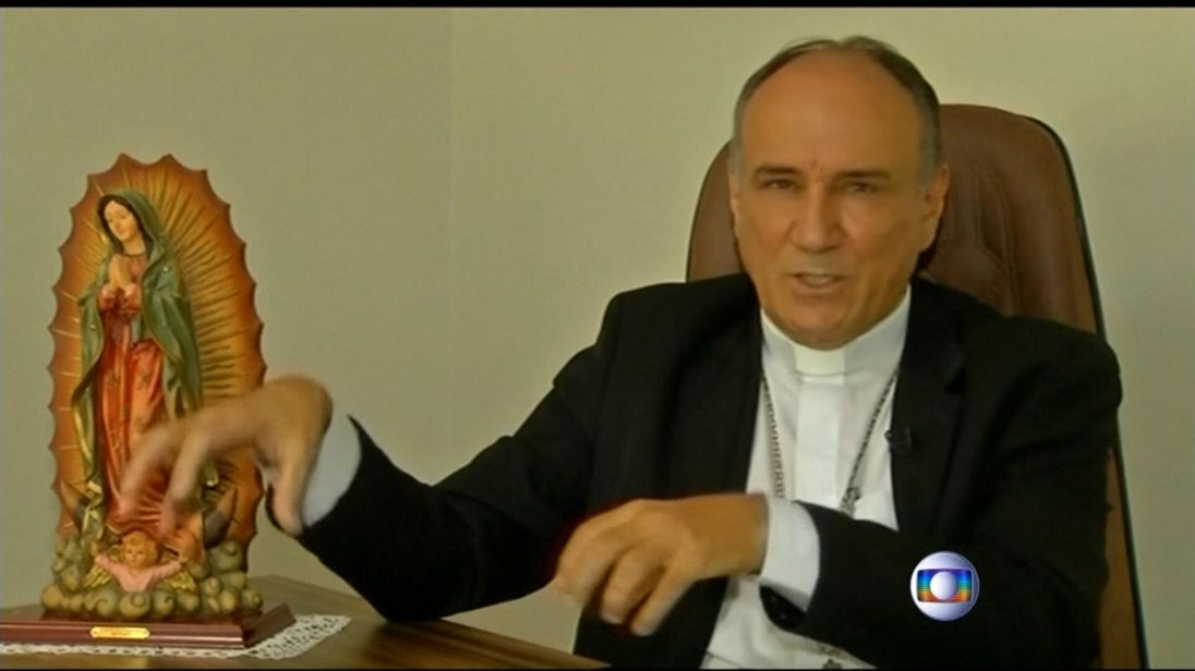 Bishop Ribeiro is accused of stealing from church coffers Pic; TV Globo