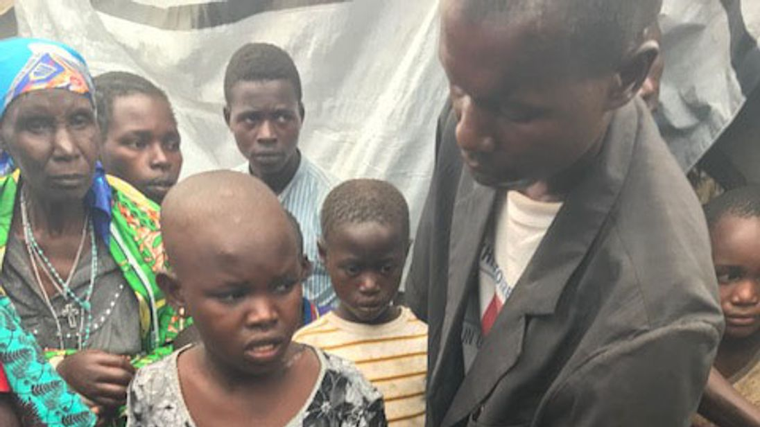 Militia mutilates children with machetes in Congo