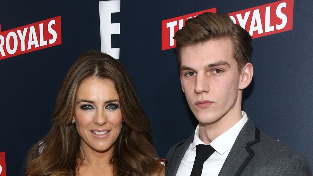 Elizabeth Hurley's nephew Miles stabbed in 'brutal attack' in London