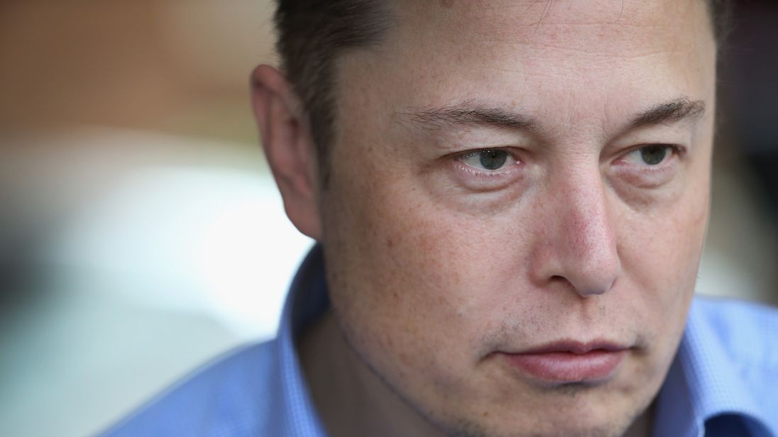 SUN VALLEY, ID - JULY 07: Elon Musk, CEO and CTO of SpaceX, CEO and product architect of Tesla Motors, and chairman of SolarCity, attends the Allen & Company Sun Valley Conference on July 7, 2015 in Sun Valley, Idaho. Many of the world's wealthiest and most powerful business people from media, finance, and technology attend the annual week-long conference which is in its 33rd year. (Photo by Scott Olson/Getty Images)