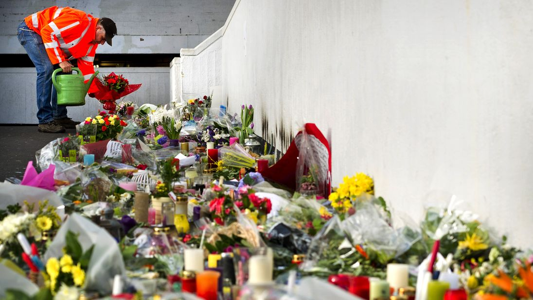 The attack on a Dutch shopping mall killed six people. File pic