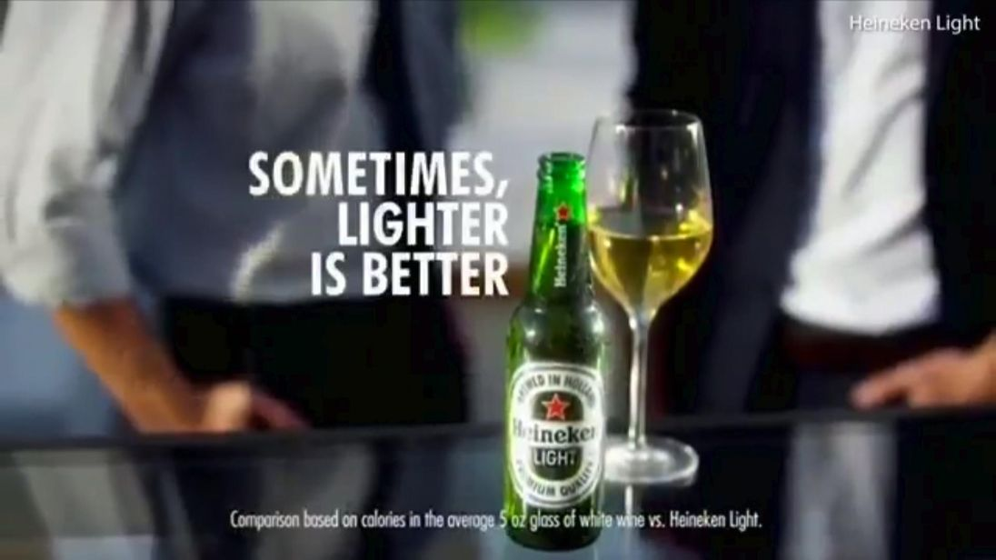 Heineken Pulls 'Sometimes, Lighter Is Better' Ad After Claims of Racism