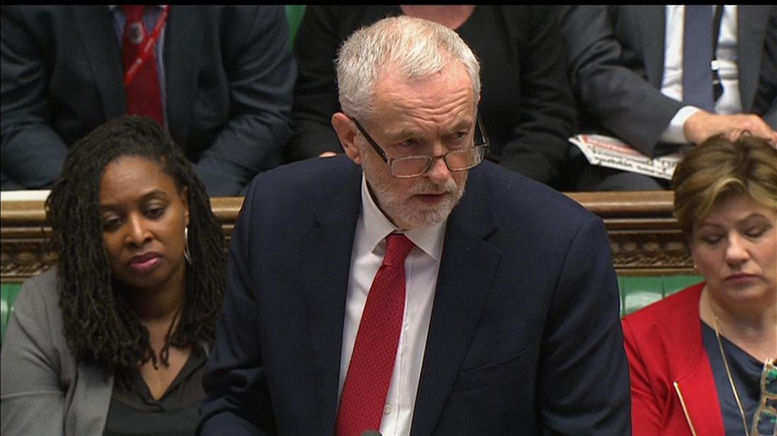 'Sheer fury' at Corbyn's response to spy attack