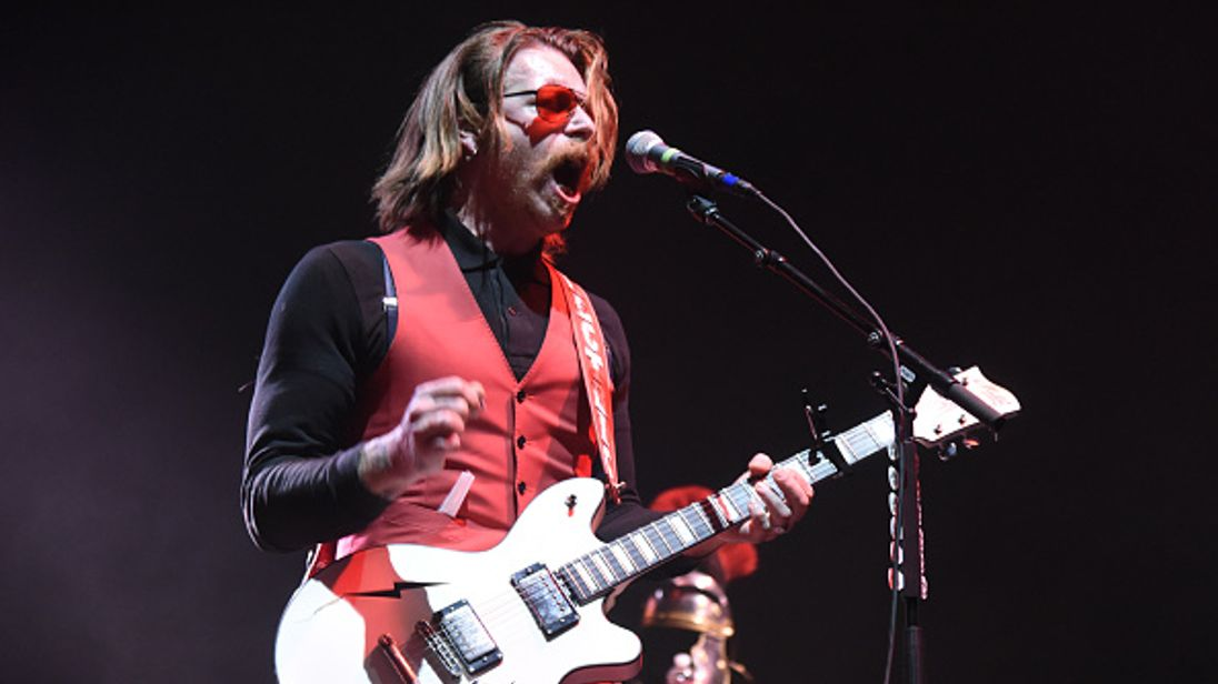 Eagles of Death Metal Frontman Criticizes Students' Gun Protests