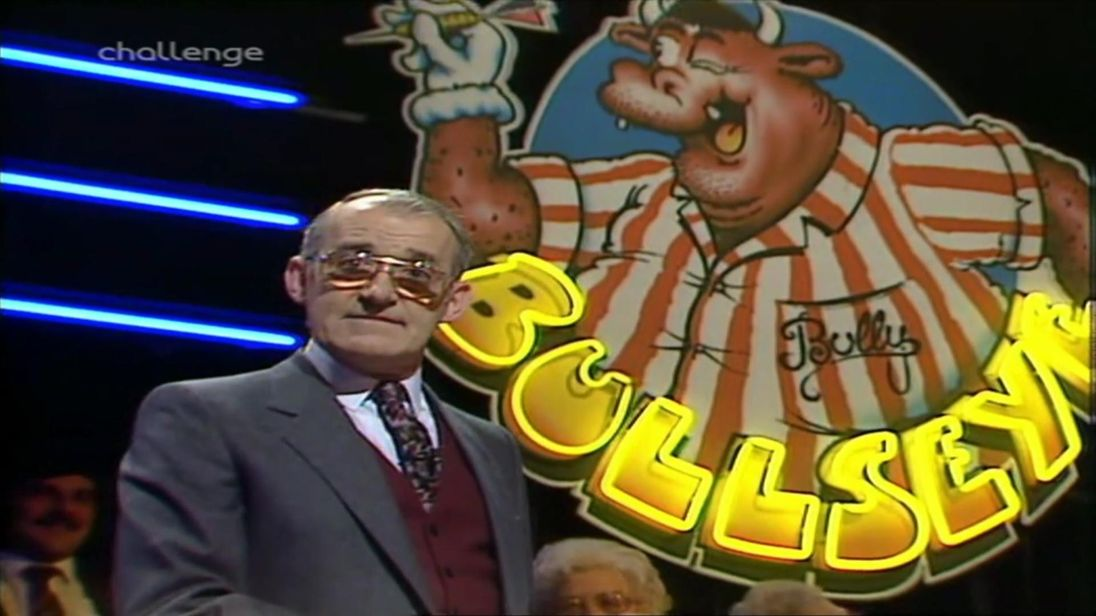 Jim Bowen and I 'just blended' - Bullseye commentator