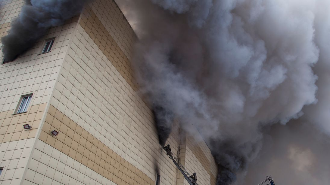 u0027Serious violationsu0027 at Russian shopping centre ravaged