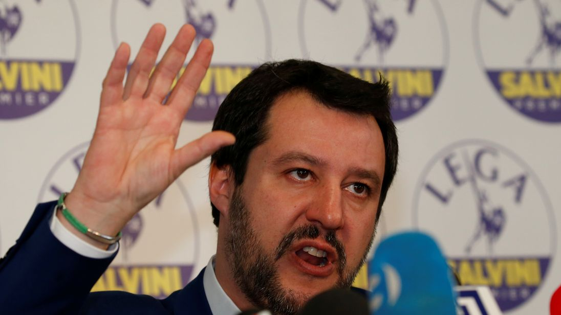 Italy won't backtrack on 2019 budget, says Deputy PM Salvini