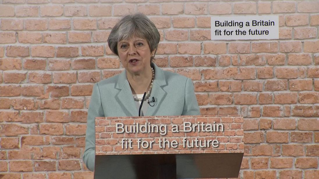 Theresa May: Young are 'right to be angry' about lack of homes