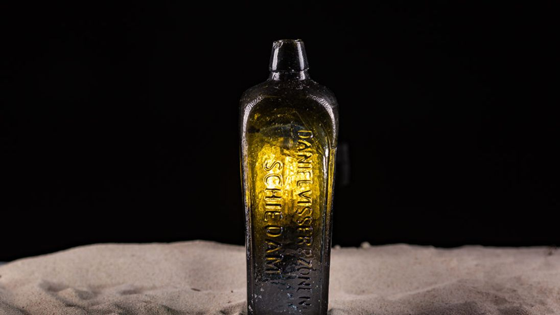 Remarkably, the bottle was found without a top. Pic: kymillman.com