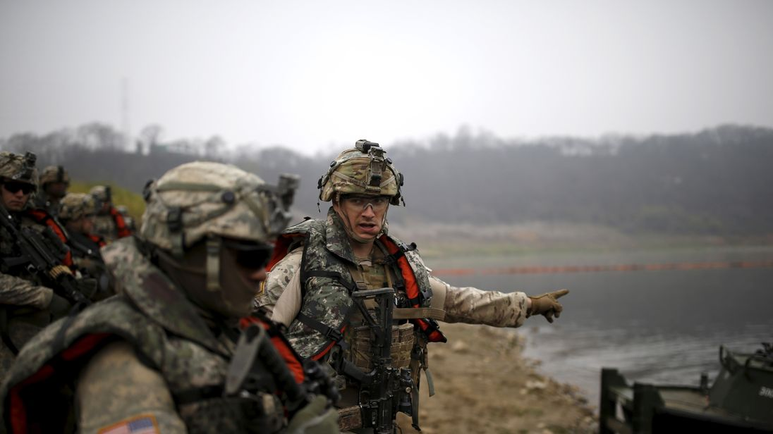 joint South Korea and US drills are due to start in April