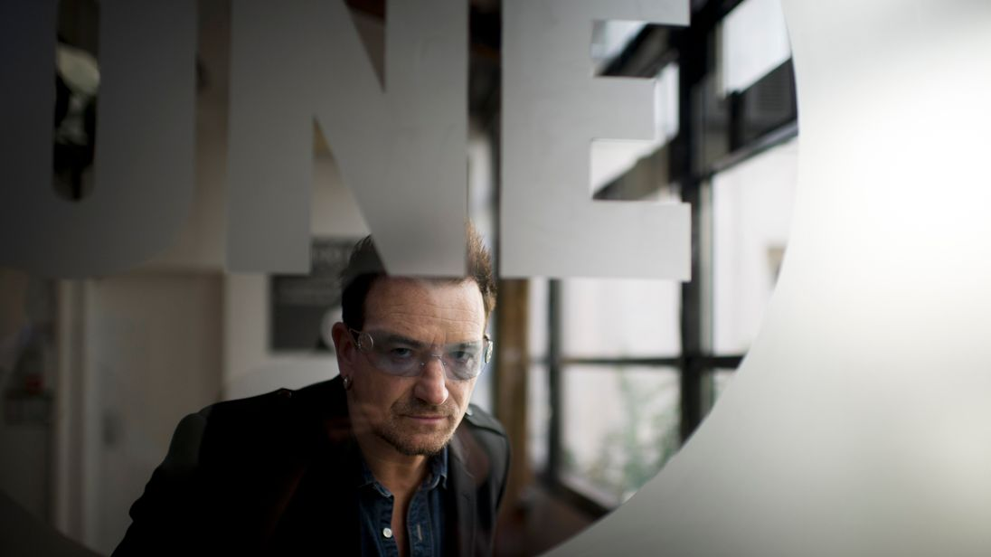 Bono has apologised following the allegations