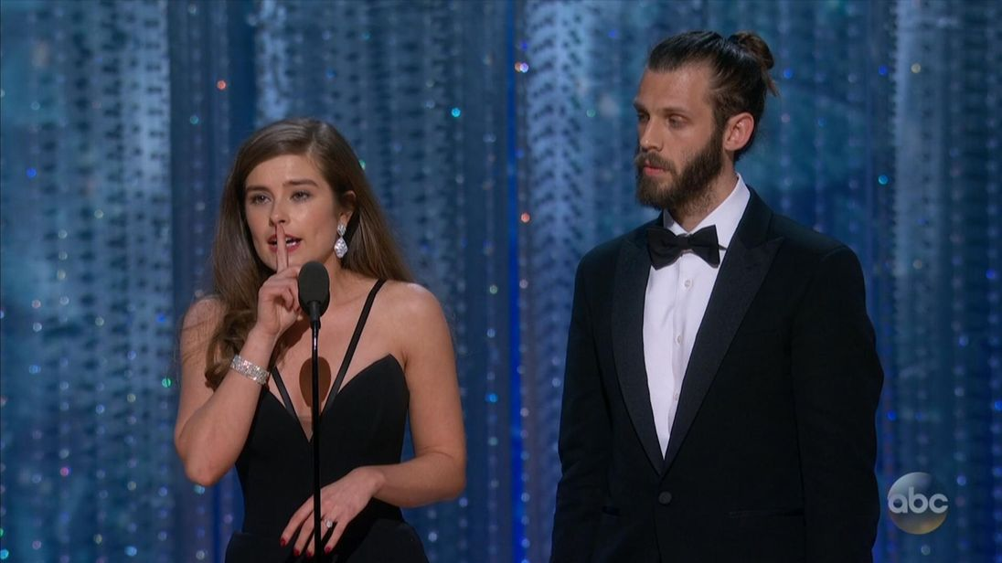 From Hollyoaks to Hollywood: Brits pick up Oscar