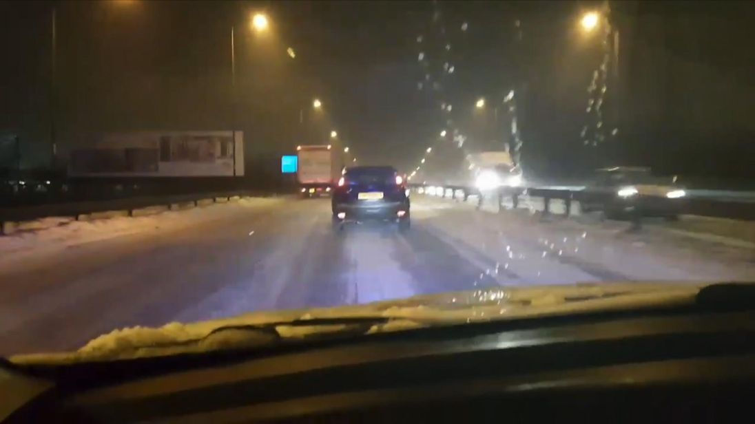 West Midlands Police dashcam footage