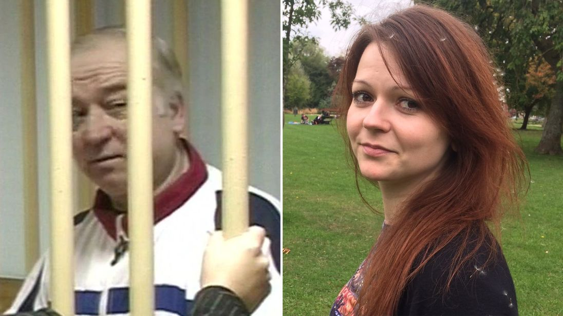 Image result for Russia spied on Skripal and daughter for at least five years