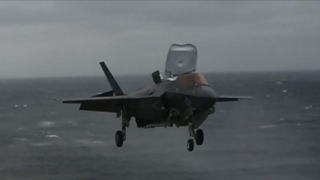 A detachment of F-35B stealth fighters landed on the assault ship USS Wasp on March 5, marking the first time the combat aircraft has been deployed aboard a US Navy ship in the Indo-Pacific.