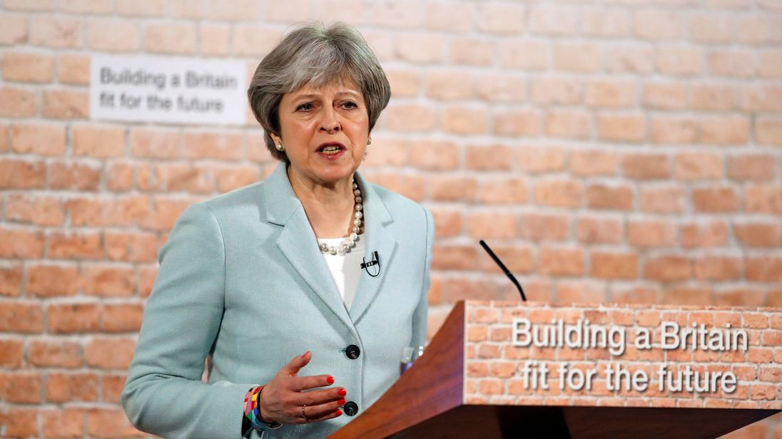 Theresa May outlines plans to force councils into building more houses