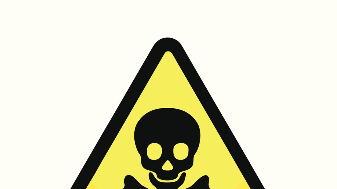 Nerve agents work by interrupting messages from the brain
