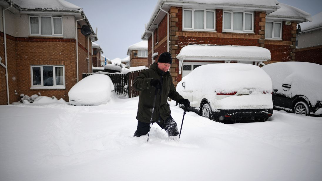 Scotland on red alert for extreme weather