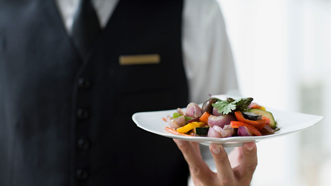 "The dismissed waiter insisted he had garnered ""great feedback from guests"""