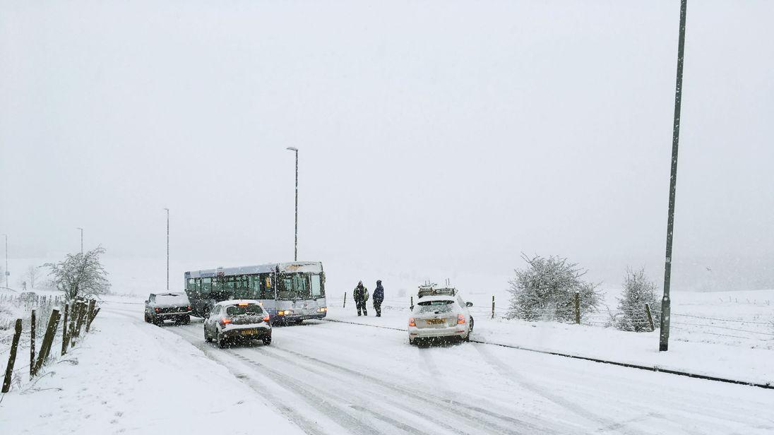 Snow in Leeds