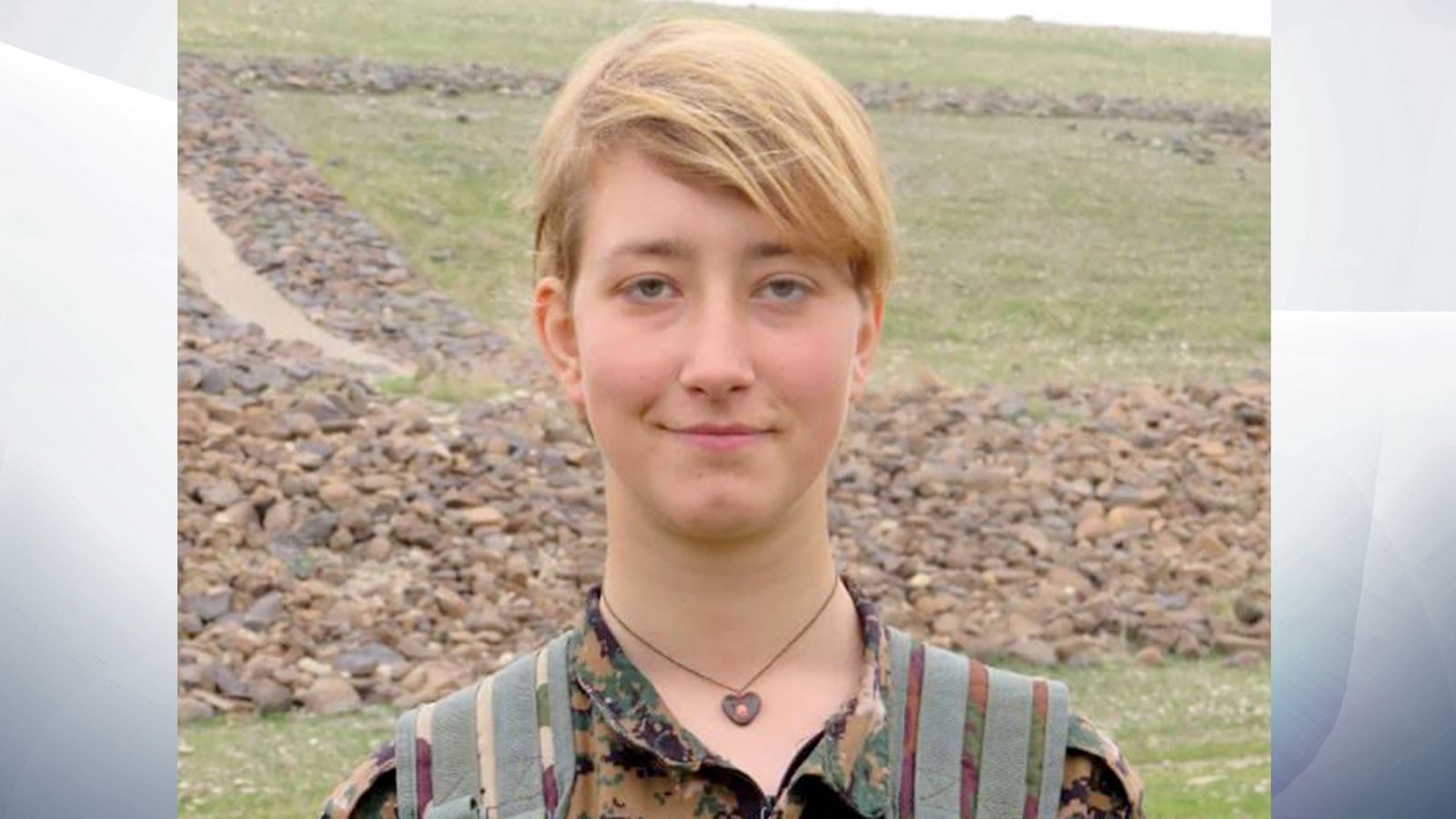 British Woman Anna Campbell Killed Fighting With Kurdish -9828