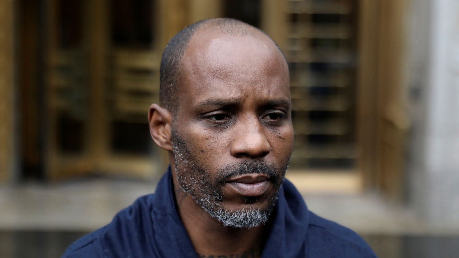 Rapper DMX plays judge hit track Slippin' before being ...