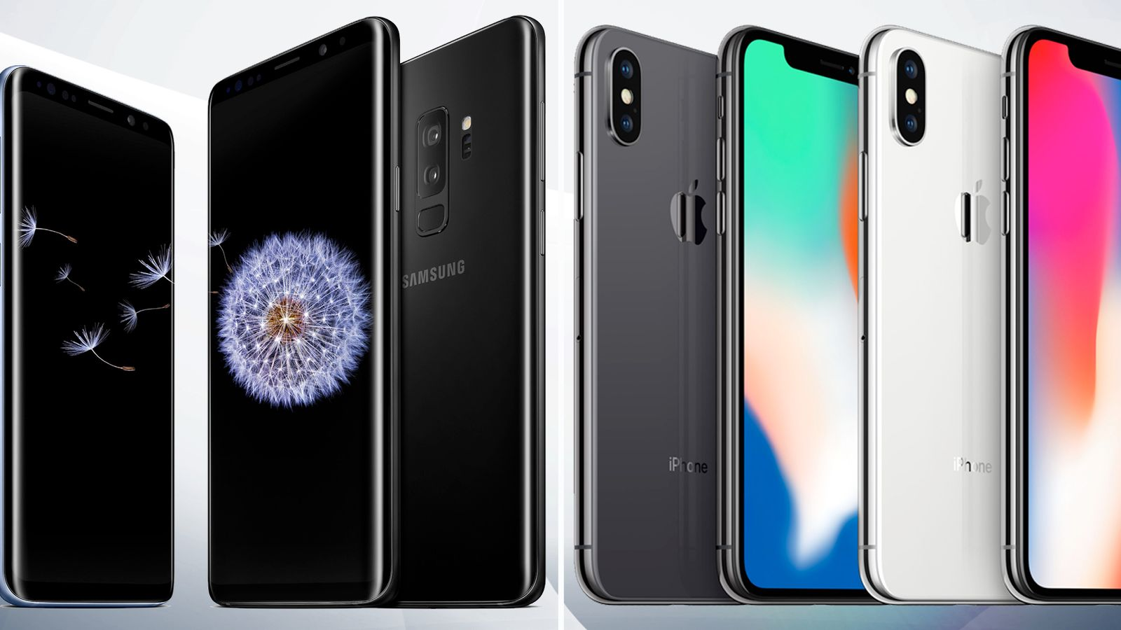 samsung vs iphone the samsung s9 vs the iphone x how do they compare 12913