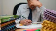 The Education Secretary is pledging to cut teachers' workload