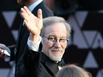 Director Steven Spielberg arrives for the 90th Annual Academy Awards on March 4, 2018, in Hollywood, California