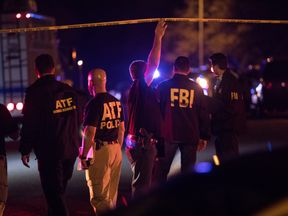 Police maintain a cordon near the site of an incident reported as an explosion in southwest Austin, Texas, U.S. March 18, 2018