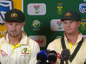 Australian cricketers Cameron Bancroft and Steve Smith admitted ball tampering against South Africa