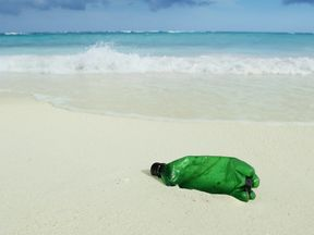 There are over 150 million tonnes of plastic in the world's oceans