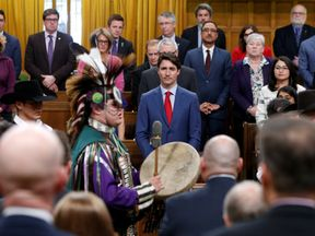 Mr Trudeau expressed 'profound regret'