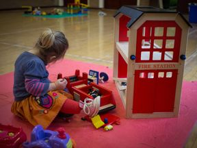 The government programme of 30 hours free childcare has helped some people