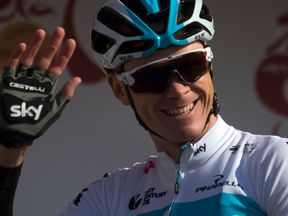 Chris Froome said it has been a tough old week