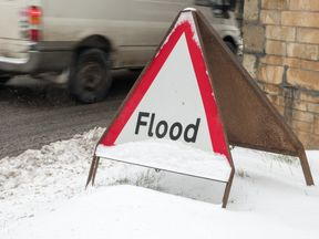 Flood warnings and snow and ice alerts are in place across the UK