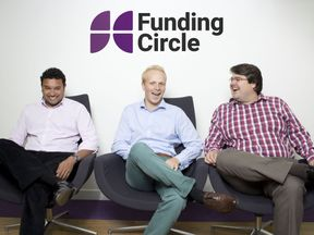 The firm's co-founders are (L-R): Samir Desai, James Meekings and Andrew Mullinger