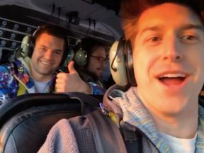 The passengers on board the helicopter that crashed into New York's East River