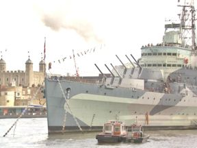 HMS Belfast Celebrates 80th Birthday