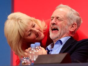 Jeremy Corbyn and Jennie Formby