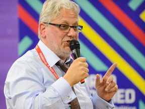 Jon Lansman, chair of Momentum