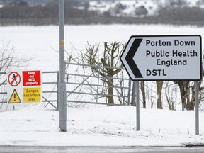 The Porton Down research centre near Salisbury