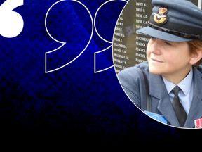 Sophy Gardner spent 20 years in the RAF