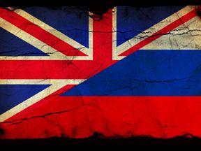 Russia/ UK flag