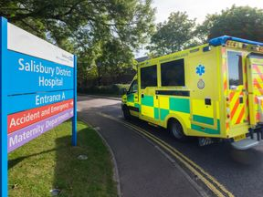 Salisbury district hospital (file pic)
