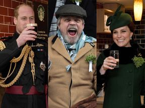 William, Mark and Kate