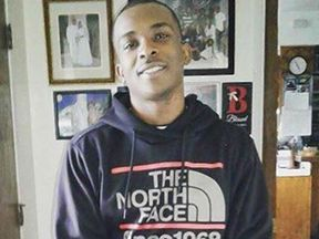 Stephon Clark was gunned down in his grandparent's back garden on Sunday