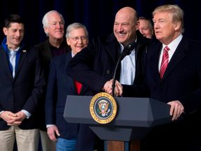 Donald Trump had a good initial rapport with Gary Cohn