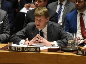 Jonathan Allen, the British deputy permanent representative to the United Nations
