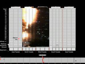 Computer imaging recreates Grenfell Tower fire